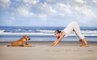 Doga - an ultimate way to bond with your furry friend!