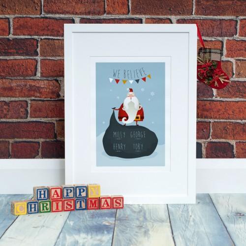 santa-we-believe-white-frame-happy-christmas-blocks-500x500